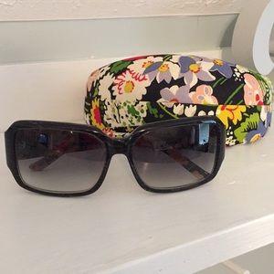Vera Bradley Poppy Fields Sunglasses In Case NWOT